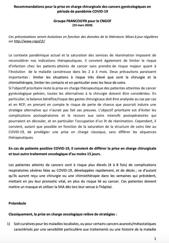 reco FRANCOGYN pour CNGOF