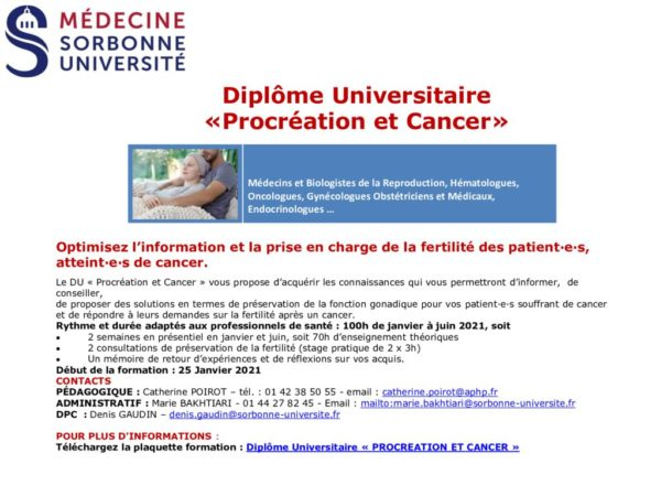 thumbnail of DU Procréation et Cancer